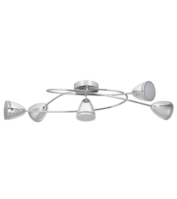 Lustra moderna Martin 5936 Rabalux, LED 20W, 1800lm, crom