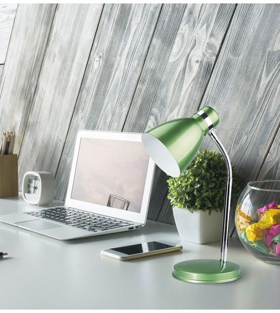 Lampa de birou PATRIC 4208 Rabalux, E14 40W, verde-crom