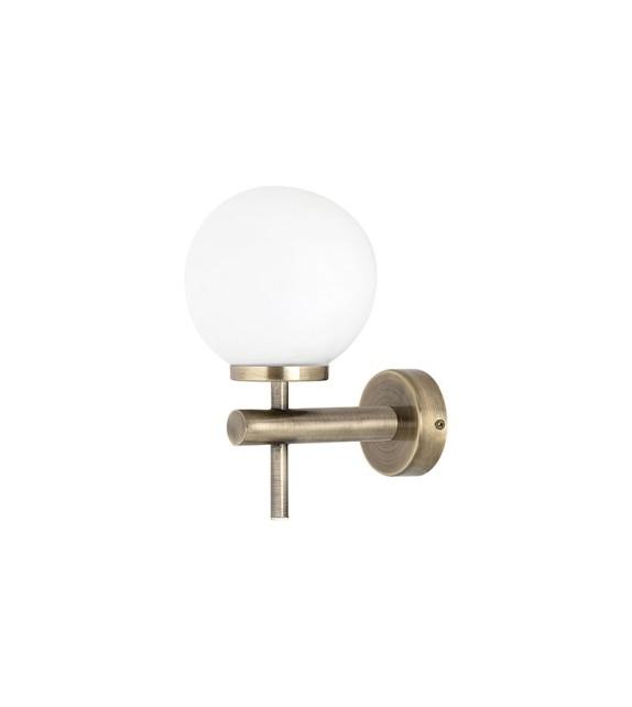 Aplica baie AVERY 3999 Rabalux, LED 6W, 550lm, metal-sticla, antic bronz