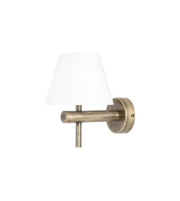Aplica baie ANGUS 3997 Rabalux, LED 6W, 550lm, metal-sticla, antic bronz