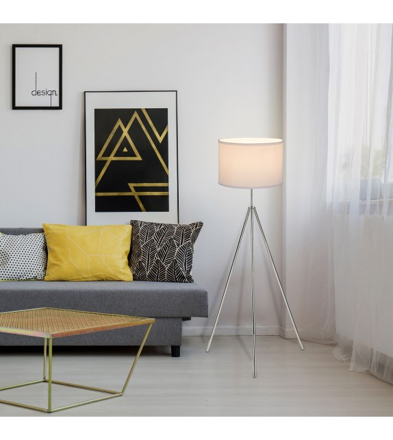 Lampadar modern STANISLAW 5596 Rabalux, E27 60W, crom-alb