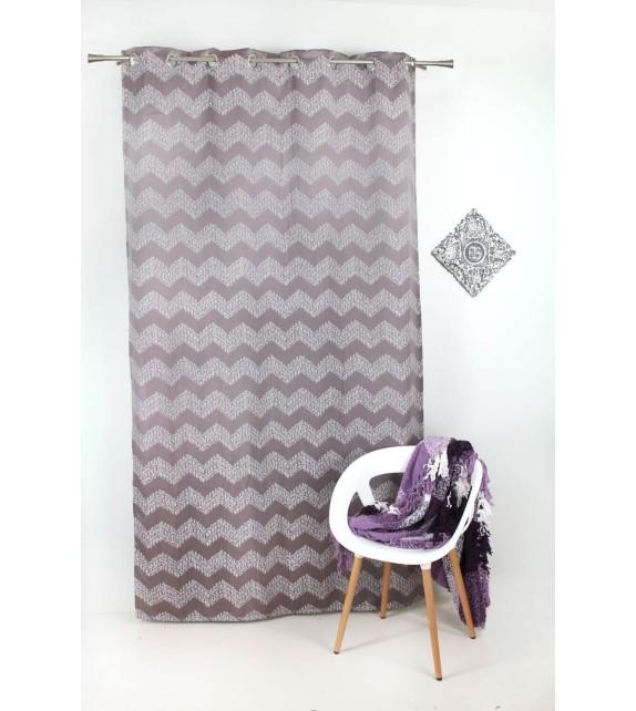 Draperie Forli Mendola Home Textiles, 140*245cm, mov
