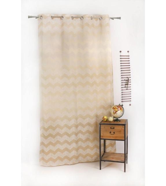 Draperie Forli Mendola Home Textiles, 140*245cm, bej
