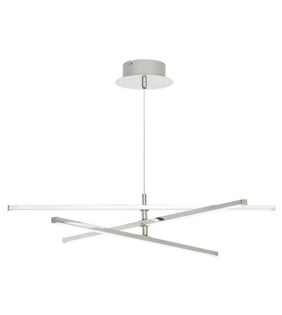 Pendul Meredith - 2480 Rabalux, LED, 18W, crom