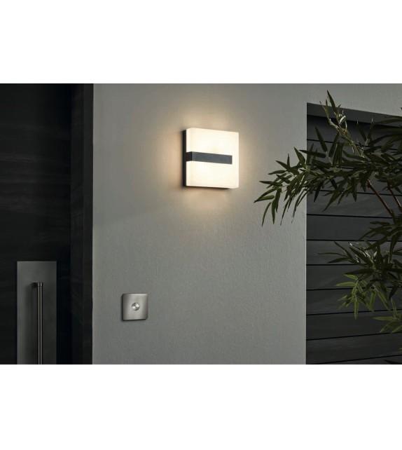 Aplica exterior TORAZZA 97219 Eglo, LED 14W, 1400lm, antracit-alb
