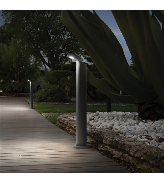 Stalpisor de gradina SNOOPY PT1 161457 Ideal Lux, antracit