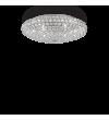 Plafoniera cu cristale KING PL9 073255 Ideal Lux, crom