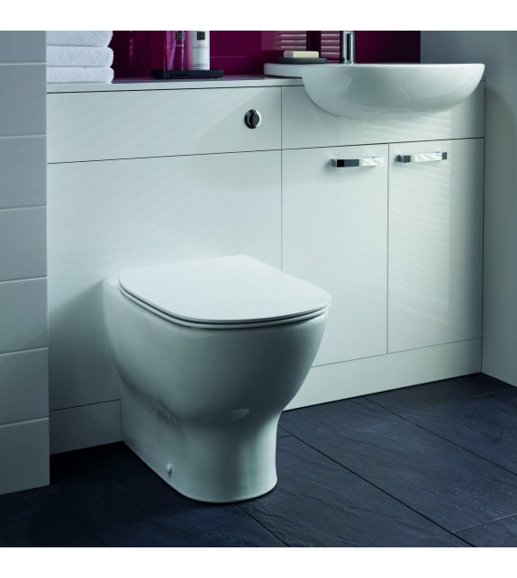 Vas WC stativ btw TESI AQUABLADE Ideal Standard + Capac TESI subtire softclose
