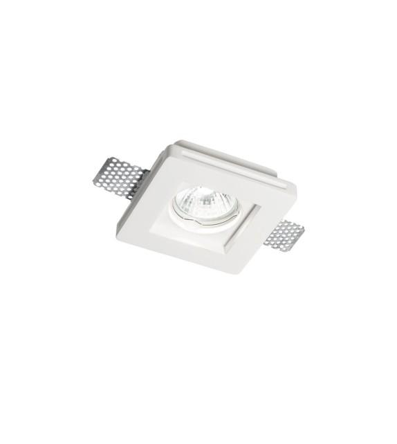 Spot incastrat SAMBA FI1 SQUARE SMALL 150291 Ideal Lux, alb