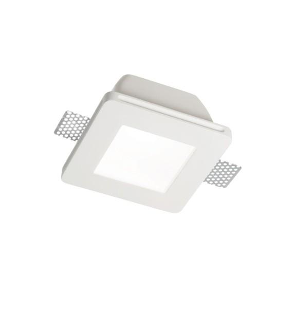 Spot incastrat SAMBA FI1 SQUARE BIG GLASS 150116 Ideal Lux, alb