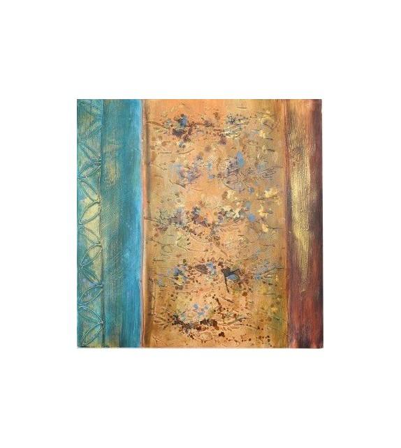 Tablou pictat manual Escape, dimensiunea 80x80cm