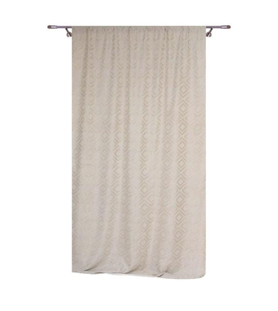 Draperie Giuseppe Mendola Home Textiles, 140x245cm, crem