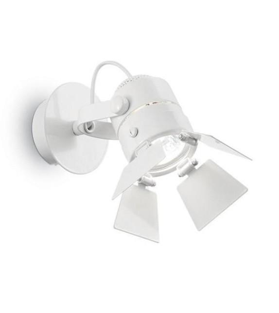 Aplica de perete CIAK AP1 095677 Ideal Lux, alb