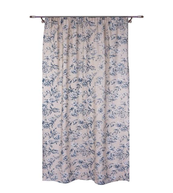 Draperie Ombra Mendola Home Textiles, 140x245cm, albastru
