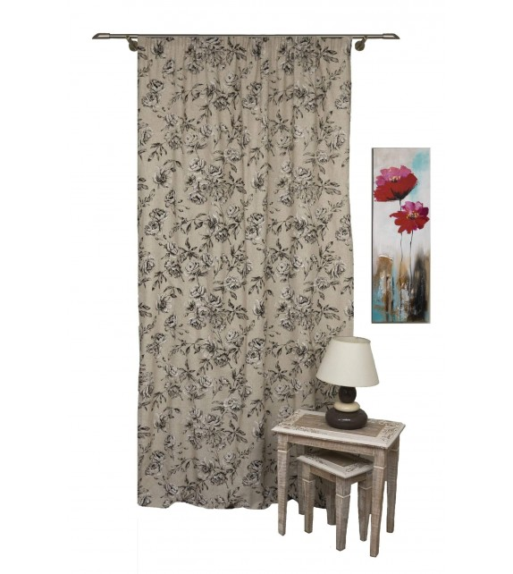Draperie Ombra Mendola Home Textiles, 140x245cm, cafea
