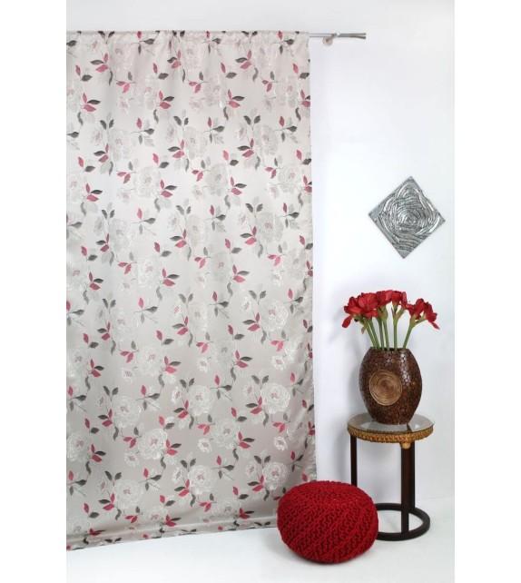 Draperie Fedora Mendola Home Textiles, 140x260cm, cu rejansa, bordo