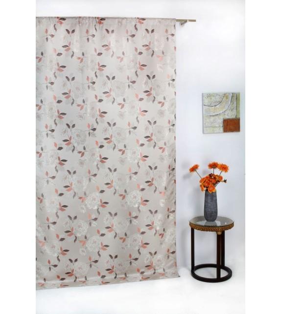 Draperie Fedora Mendola Home Textiles, 140x260cm, cu rejansa, crem