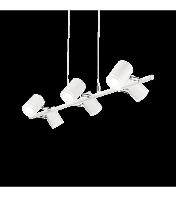 Lustra moderna SHOTS SP6 186825 Ideal Lux, LED 30W, 2400lm, alb