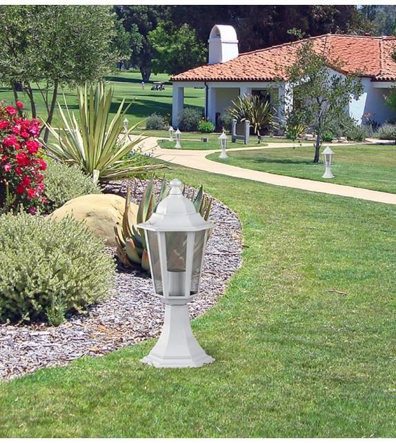 Stalp de exterior Velence - 8205 Rabalux, E27, 1x60W, alb