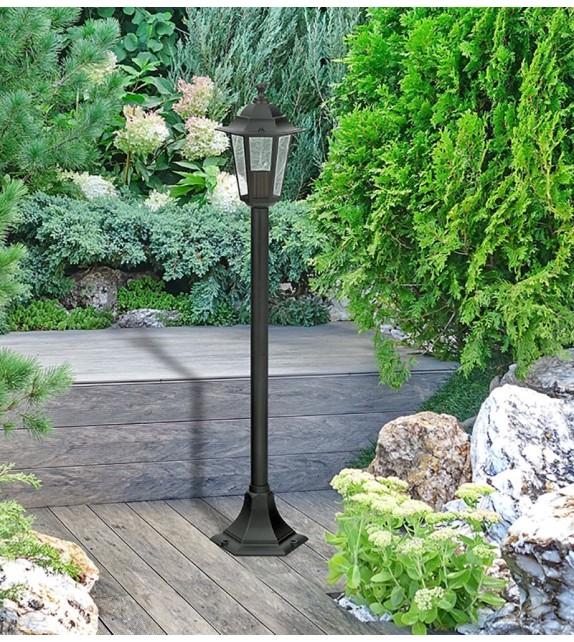 Stalp de exterior Velence - 8210 Rabalux, E27, 1x60W, negru