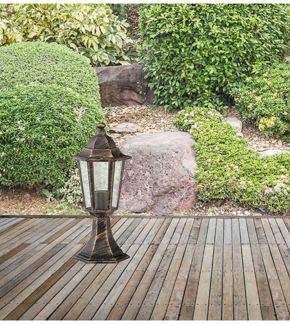 Stalp de exterior Velence - 8236 Rabalux, E27, 1x60W, auriu antichizat