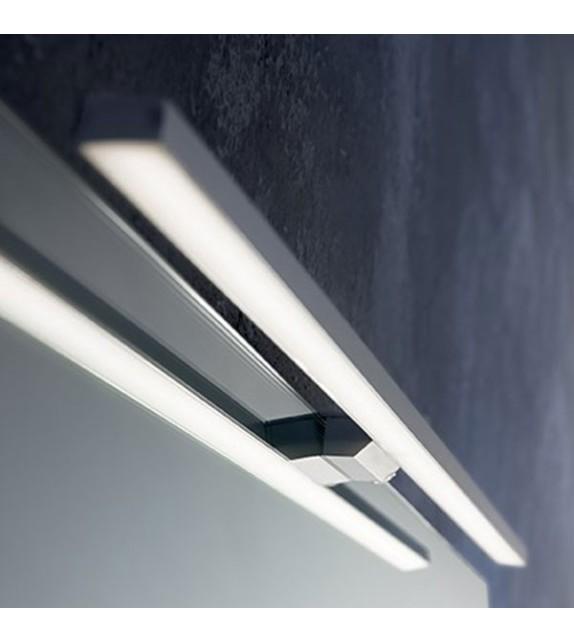 Aplica baie EDGAR AP84 136561 Ideal Lux, LED 12W, 800 lm, aluminiu