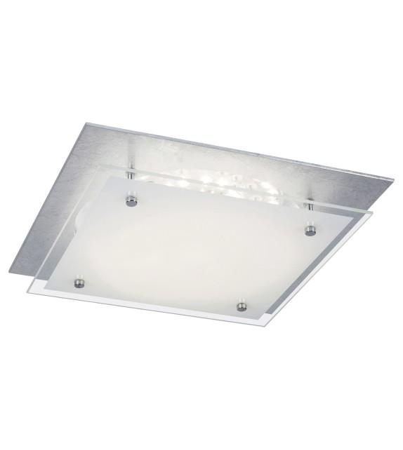 Plafoniera JUNE 3030 Rabalux, LED 18W, 1440lm, 4000K, argintiu-alb