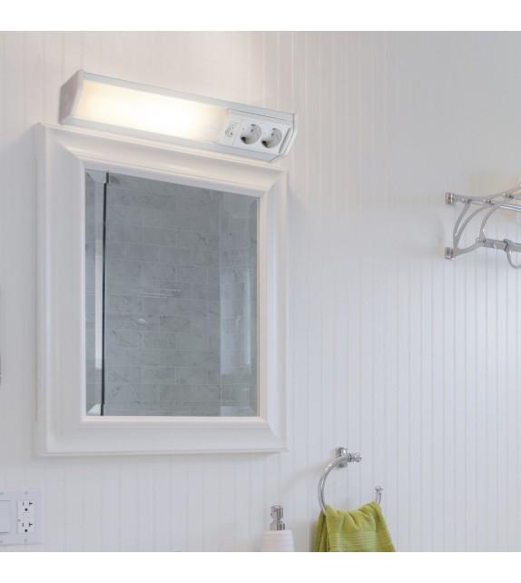 Aplica led pentru baie Bath - Rabalux, 11W, alb, cu priza si intrerupator