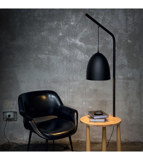 Lampadar PIANO PT1 145365 Ideal Lux, negru