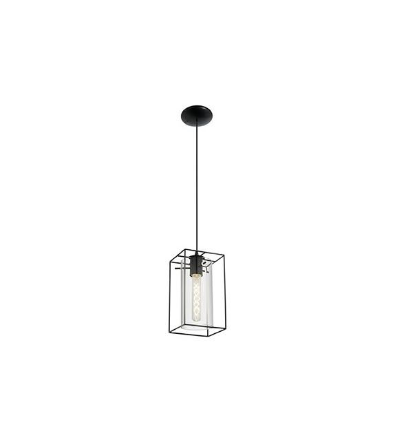 Pendul Loncino - 49495 Eglo, stil scandinav, negru