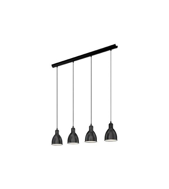Pendul Priddy - 49466 Eglo, 4xE27, stil scandinav, negru