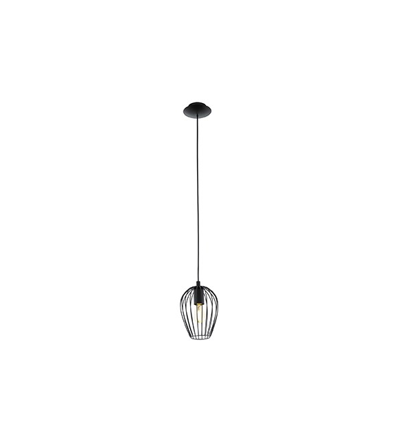 Pendul Newtown - 49477 Eglo, stil scandinav, negru