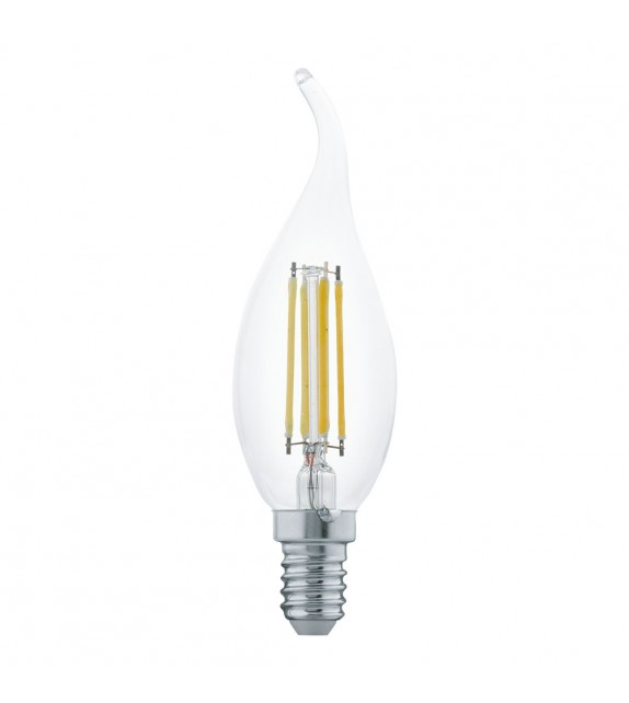 Bec E14 LED CF35 CLEAR 11497 Eglo, 4W, 350m, 2700K