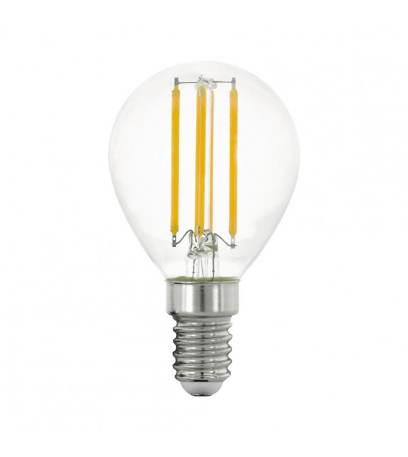 Bec E14 LED P45 CLEAR 11761 Eglo, 4W, 470m, 2700K