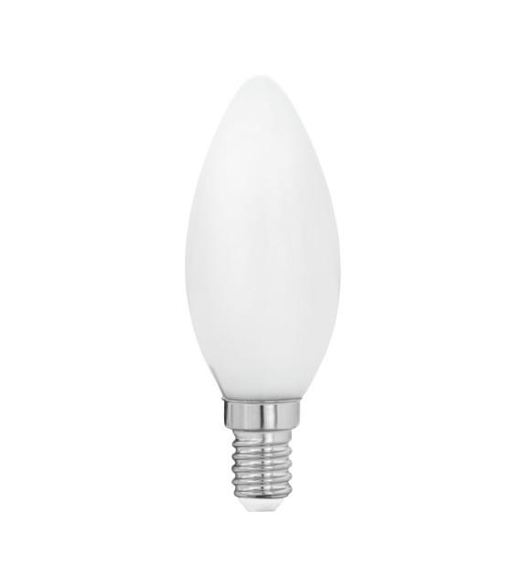Bec E14 LED C35 MILKY 11602 Eglo, 4W, 470lm, 2700K