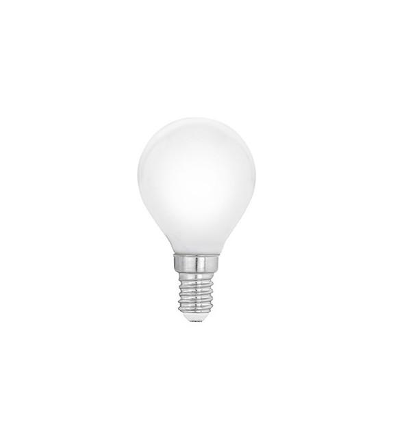 Bec E14 LED P45 MILKY 11604 Eglo, 4W, 470lm, 2700K