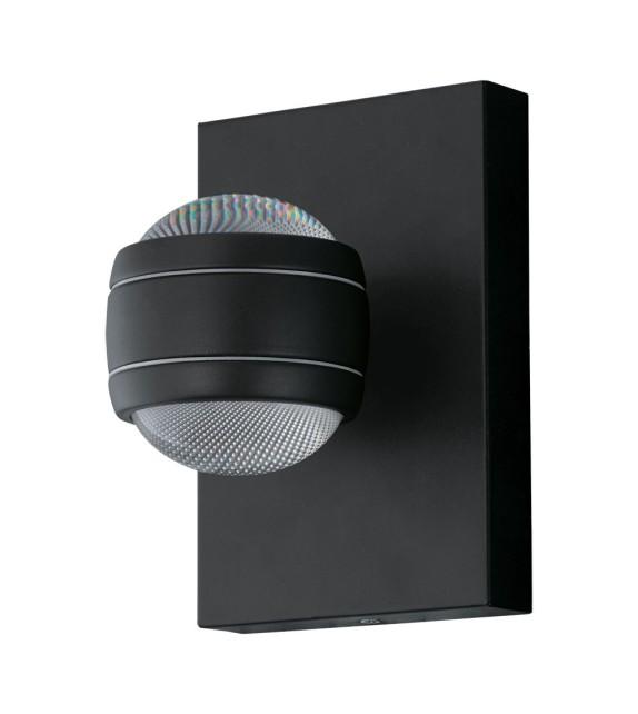 Aplica exterior EGLO 94848 SESIMBA, LED 2x3.7W, 560lm, negru