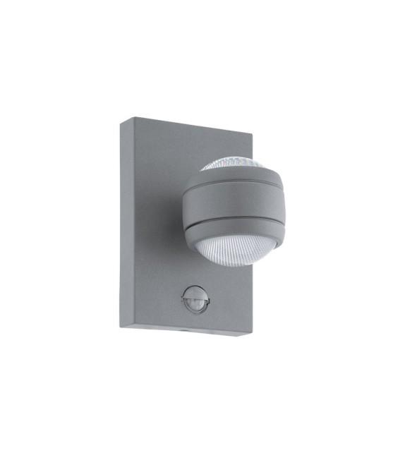 Aplica exterior cu senzor EGLO 96019 SESIMBA, LED 2x3.7W, 560lm, antracit