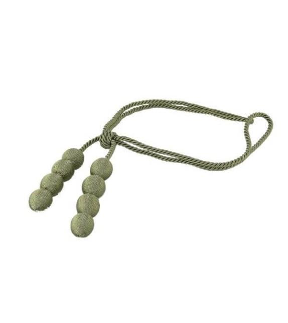 Ciucure draperie Mendola Home Textiles, 10/31,5cm verde
