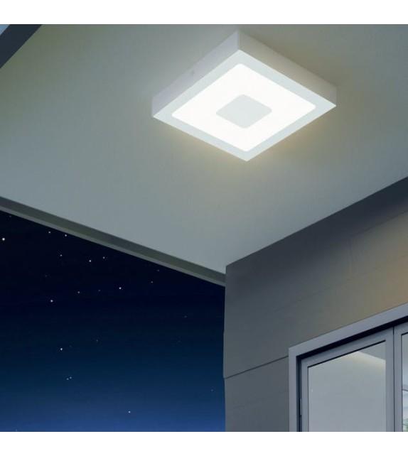 Plafoniera exterior EGLO 96488 IPHIAS, LED 16.5W, 1700lm, alb