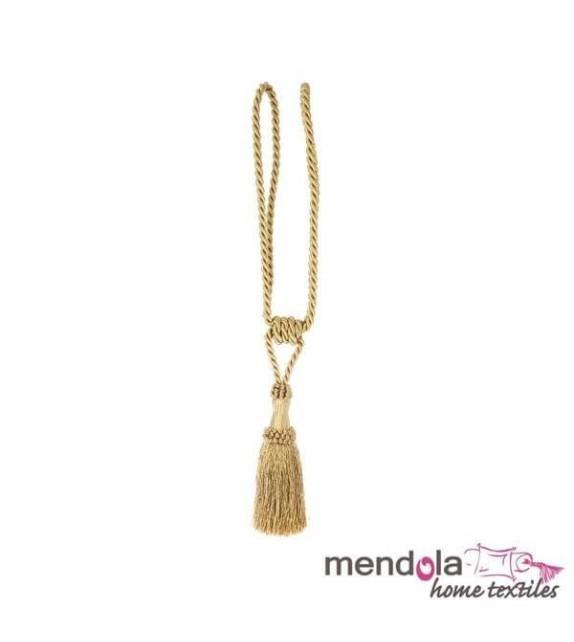 Ciucure draperie Mendola Home Textiles, 8,5/41cm, auriu