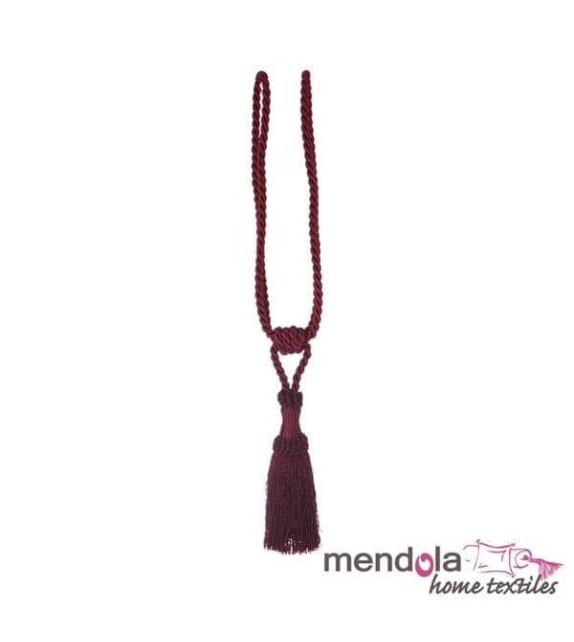 Ciucure draperie Mendola Home Textiles, 8,5/41cm, bordo