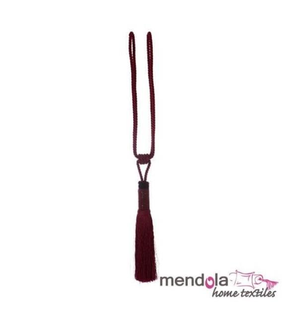 Ciucure draperie Mendola Home Textiles, 19/70cm, bordo