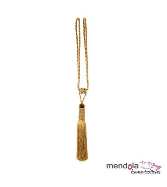 Ciucure draperie Mendola Home Textiles, 19/70cm, auriu