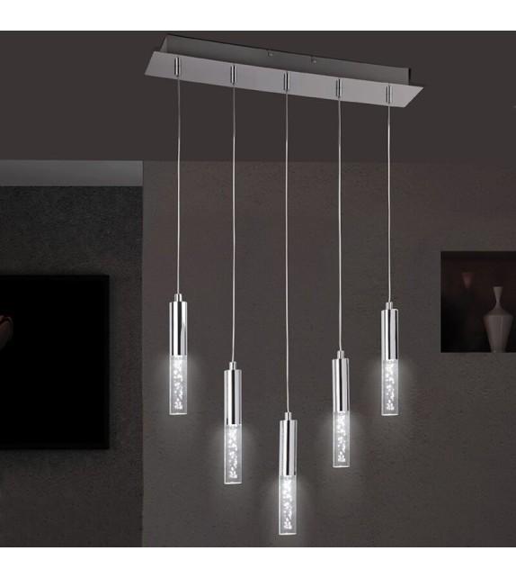 Pendul Rheia - 5764 Rabalux, LED, 5x5W, crom