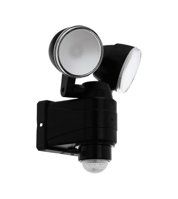 Proiector led cu senzor CASABAS 98189 EGLO, LED 7,5W, 800lm, negru