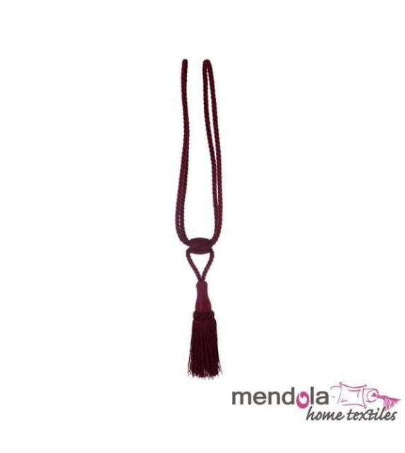 Ciucure draperie Mendola Home Textiles, 10/56cm, bordo