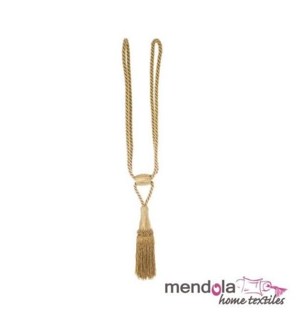 Ciucure draperie Mendola Home Textiles, 10/56cm, auriu
