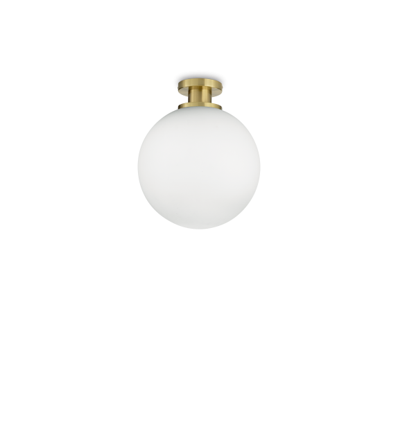 Plafoniera LOKO PL1 197944 IDEAL LUX, auriu-alb