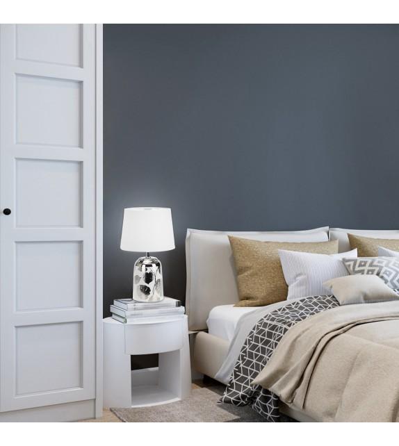 Veioza SONAL 4548 Rabalux, E14, 40W, argintiu/alb